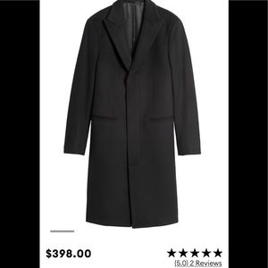Banana Republic Men's Wool Top Coat